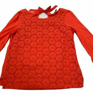 Beautiful limited coral top, size medium!